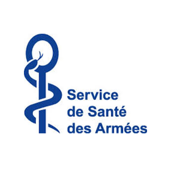 logo service de sante des armees