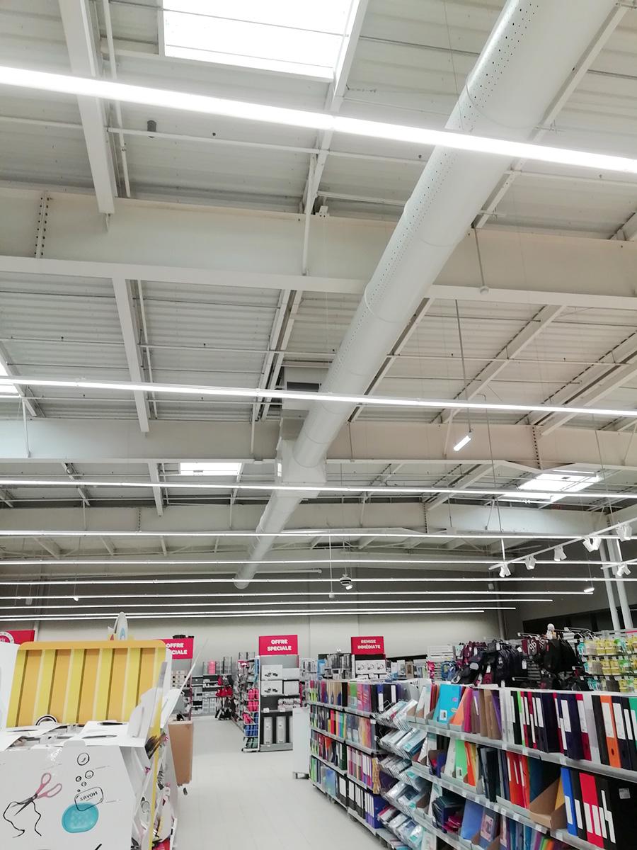 Chauffage ventilation espace culturel Espace culturel Carrefour Plouzané